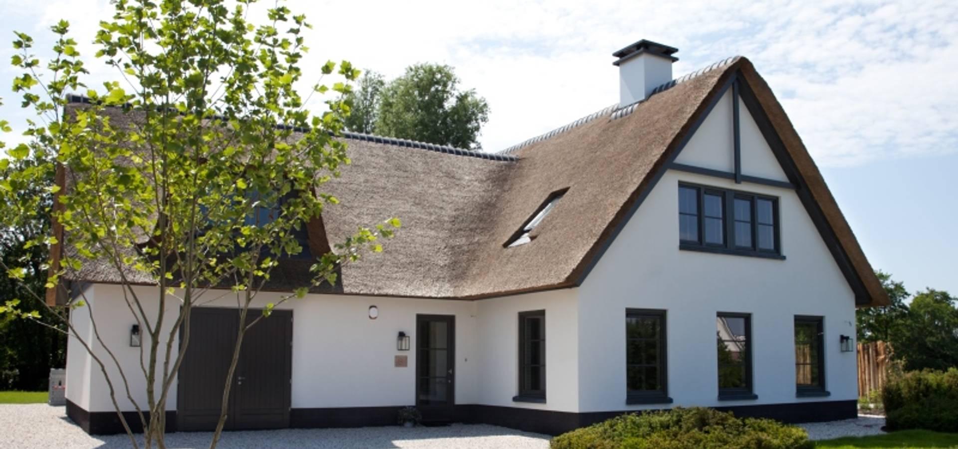 Vrijstaande woning sterksel door groothuisbouw emmeloord homify for Afbeelding van moderne huizen