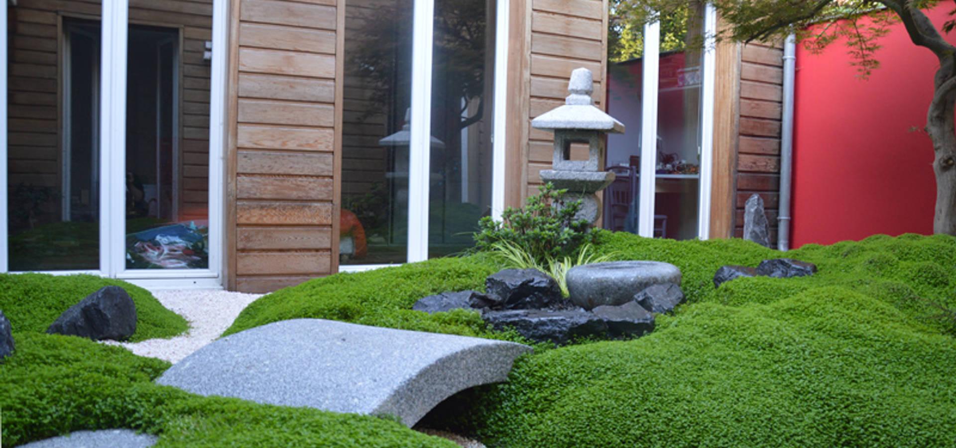 Jardin japonais bassin by jardin japonais homify for Bassin de jardin japonais