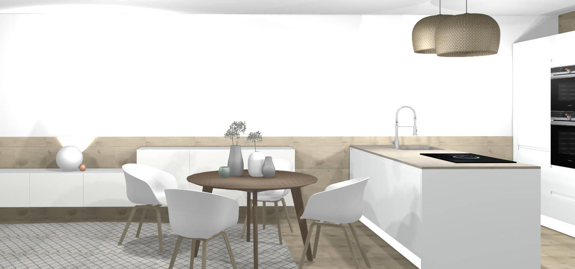 3d stylisches schlafzimmer von wohnly homify. Black Bedroom Furniture Sets. Home Design Ideas