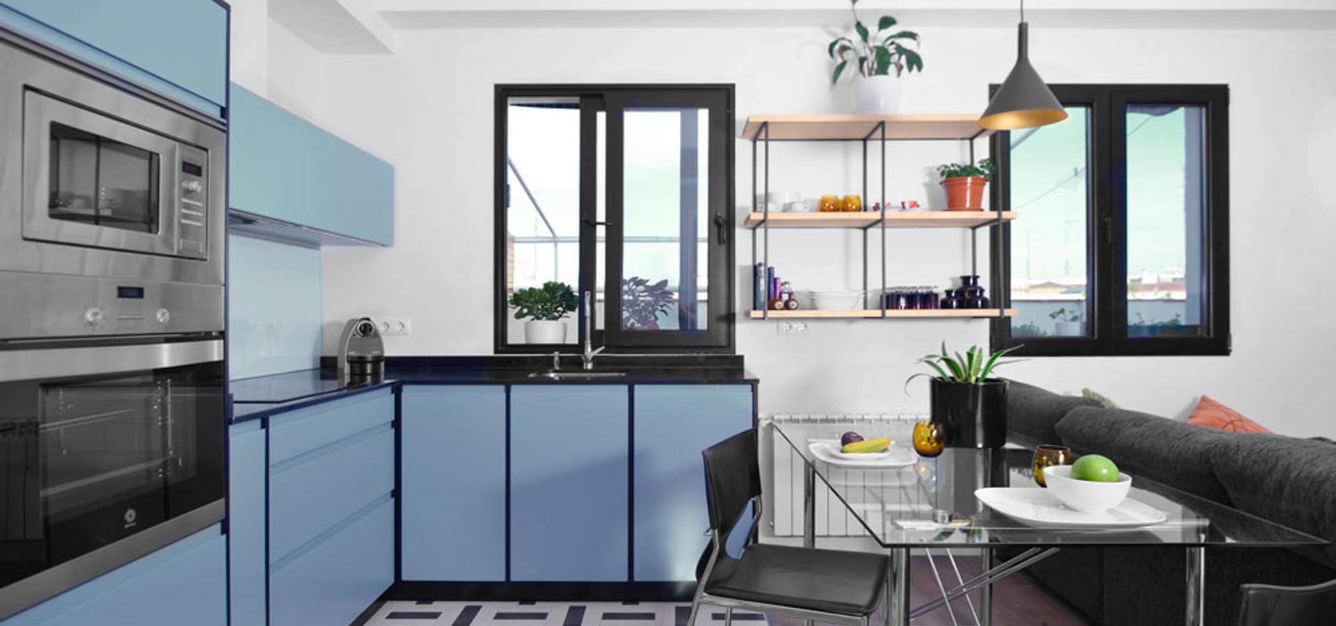 Ondo interiorismo arquitectos de interiores en madrid homify - Arquitecto de interiores madrid ...
