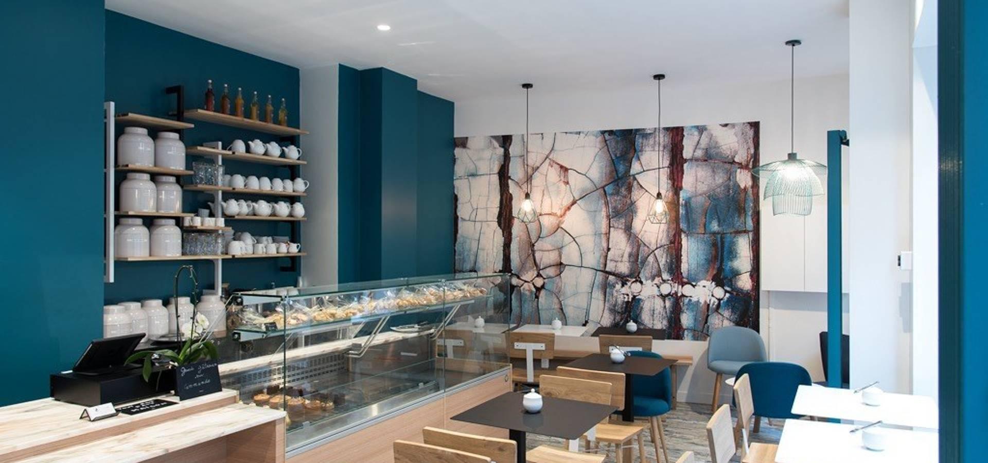 Agencement et décoration d\'un salon de thé (Paris 12e) von Joseph ...