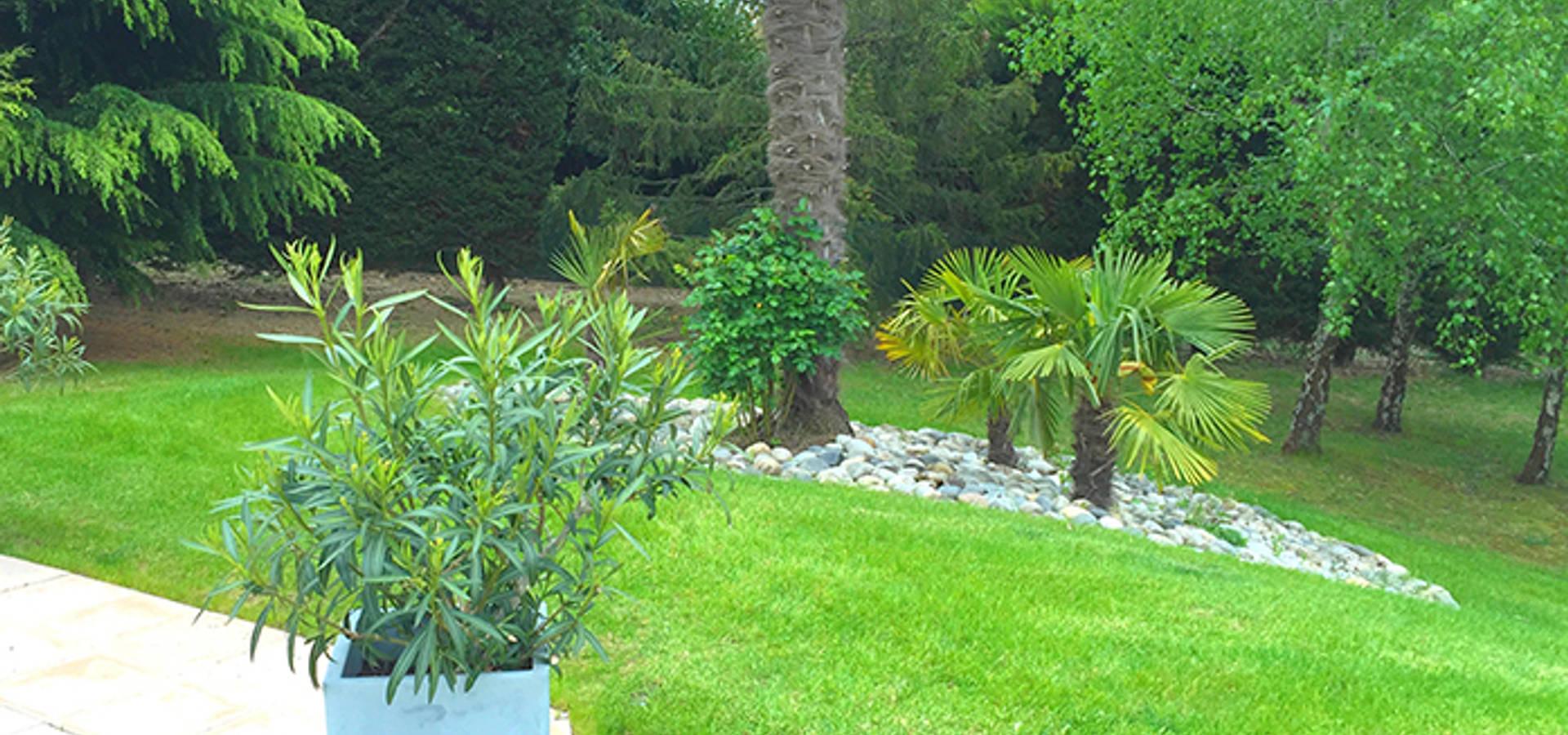 Cr ation de jardins par jacques begot homify - Entreprise paysagiste toulouse ...