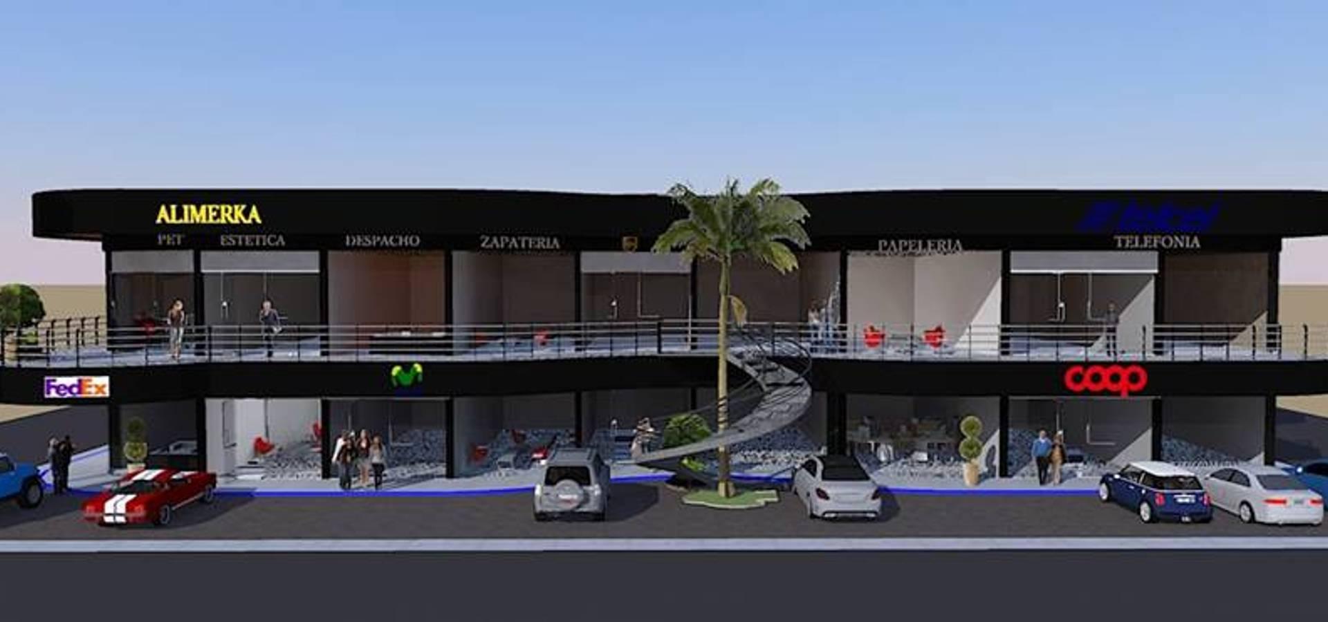 Locales comerciales de dac dise o arquitectura y for Paginas de construccion y arquitectura