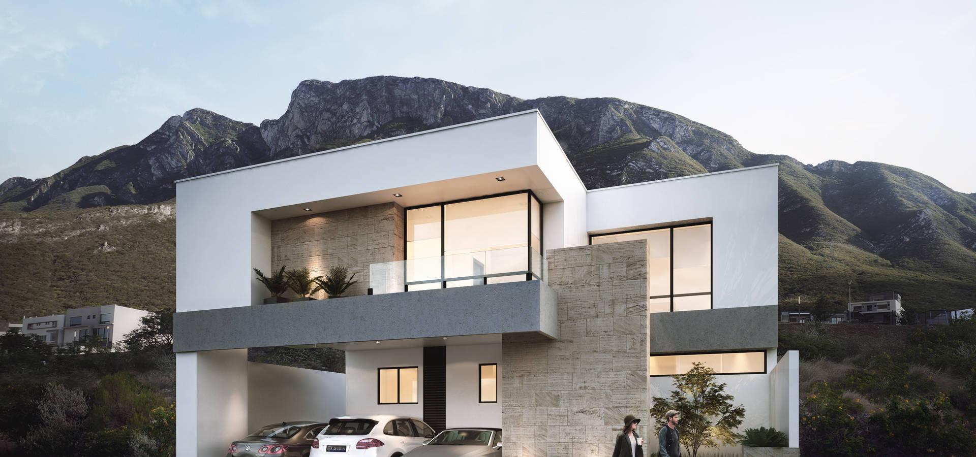 Casas residenciales valle poniente di vivalia desarrollos for Case in stile california