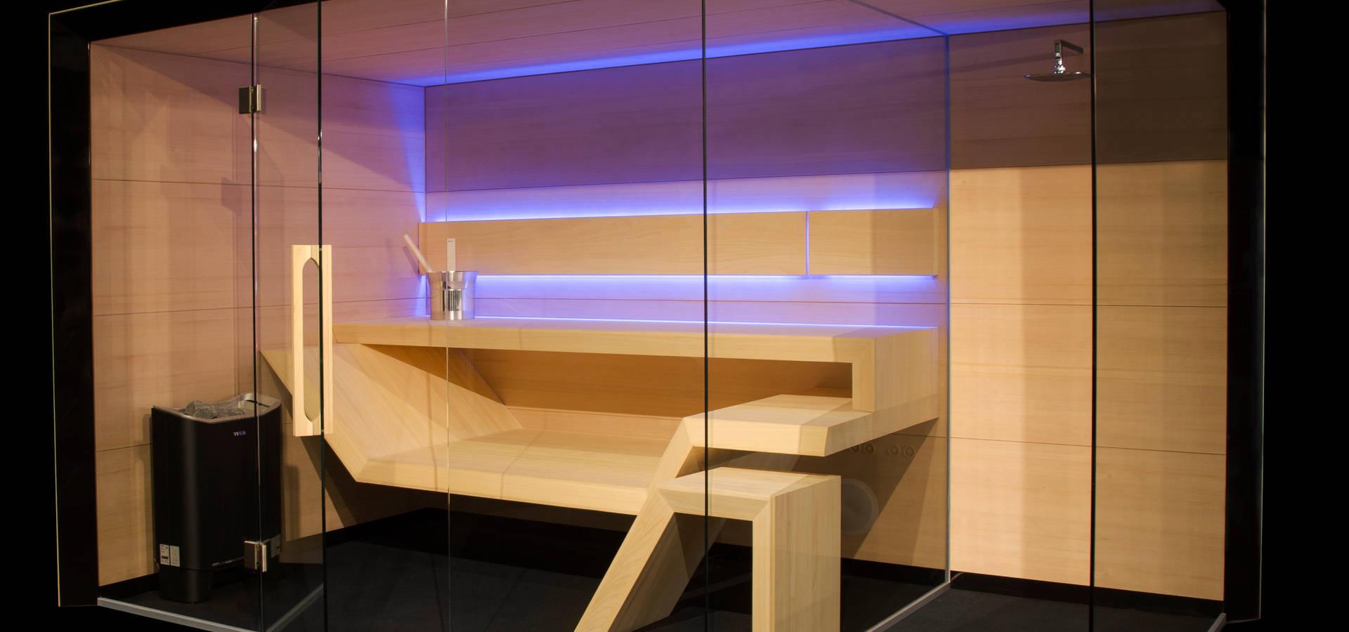Sauna modern design  Sauna Modern Line von Sauna Line Sp. z o.o. | homify