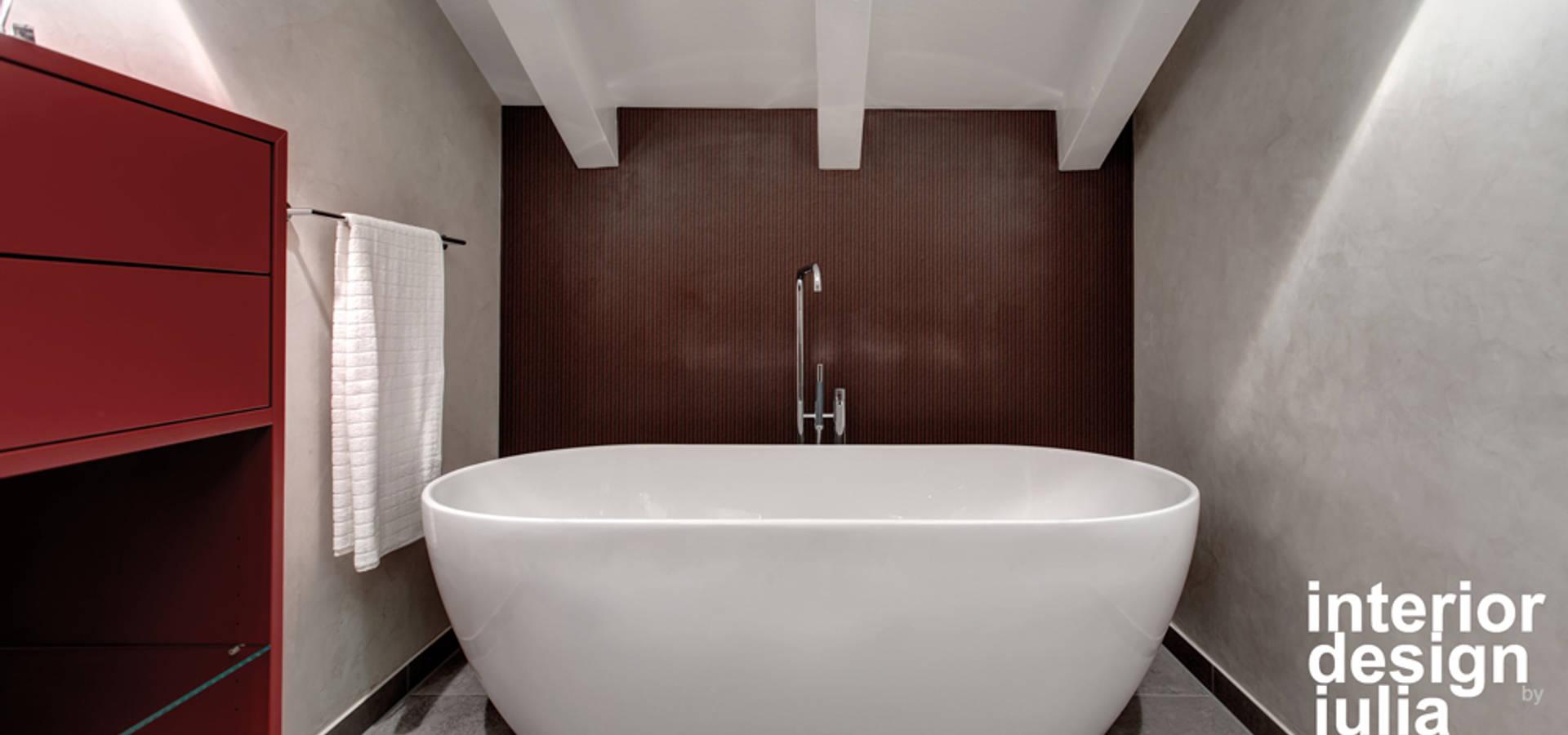 Masterbad Haus H by INNENarchitektur juliaSCHMID | homify