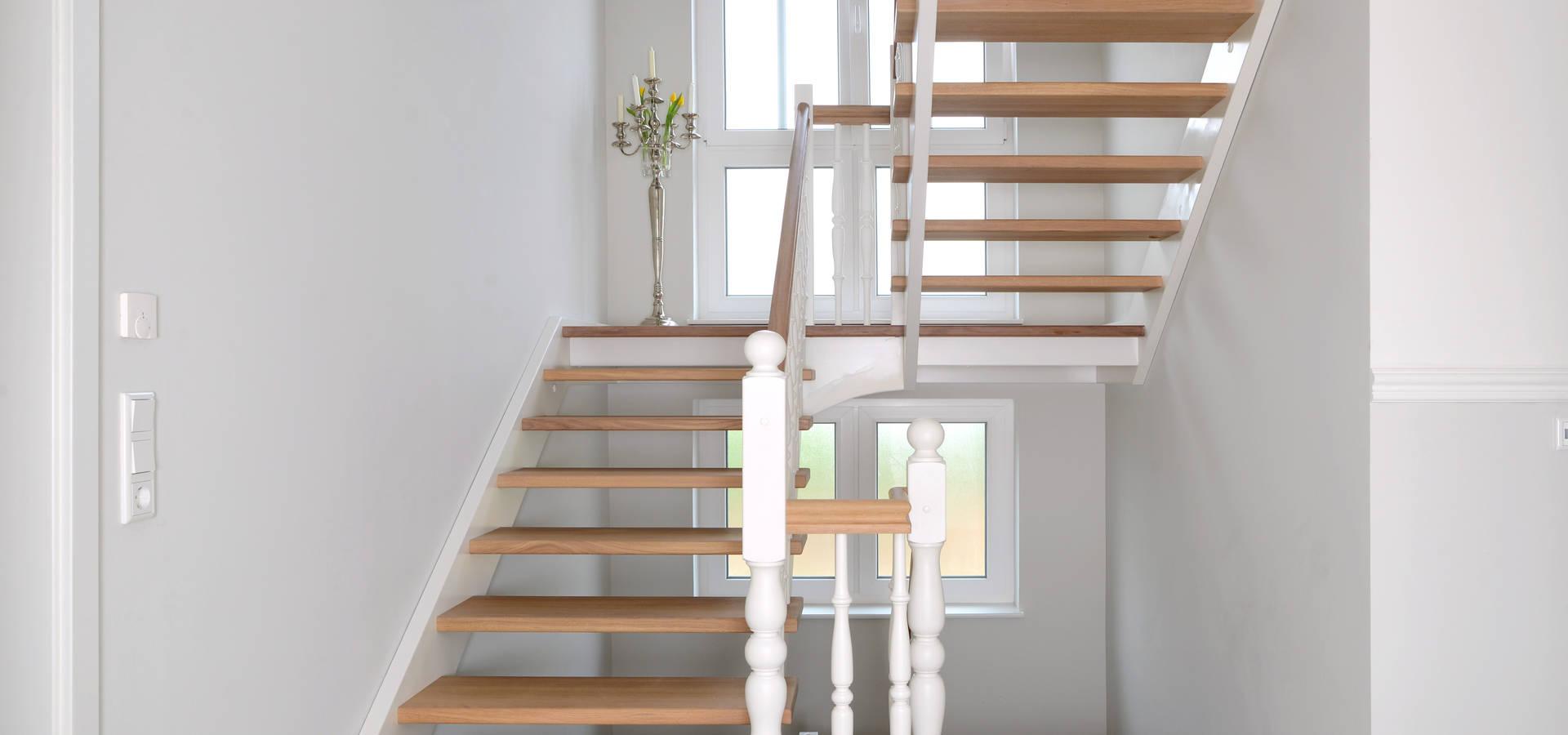 wundersch nen betontreppe mit holzstufen haus design ideen. Black Bedroom Furniture Sets. Home Design Ideas