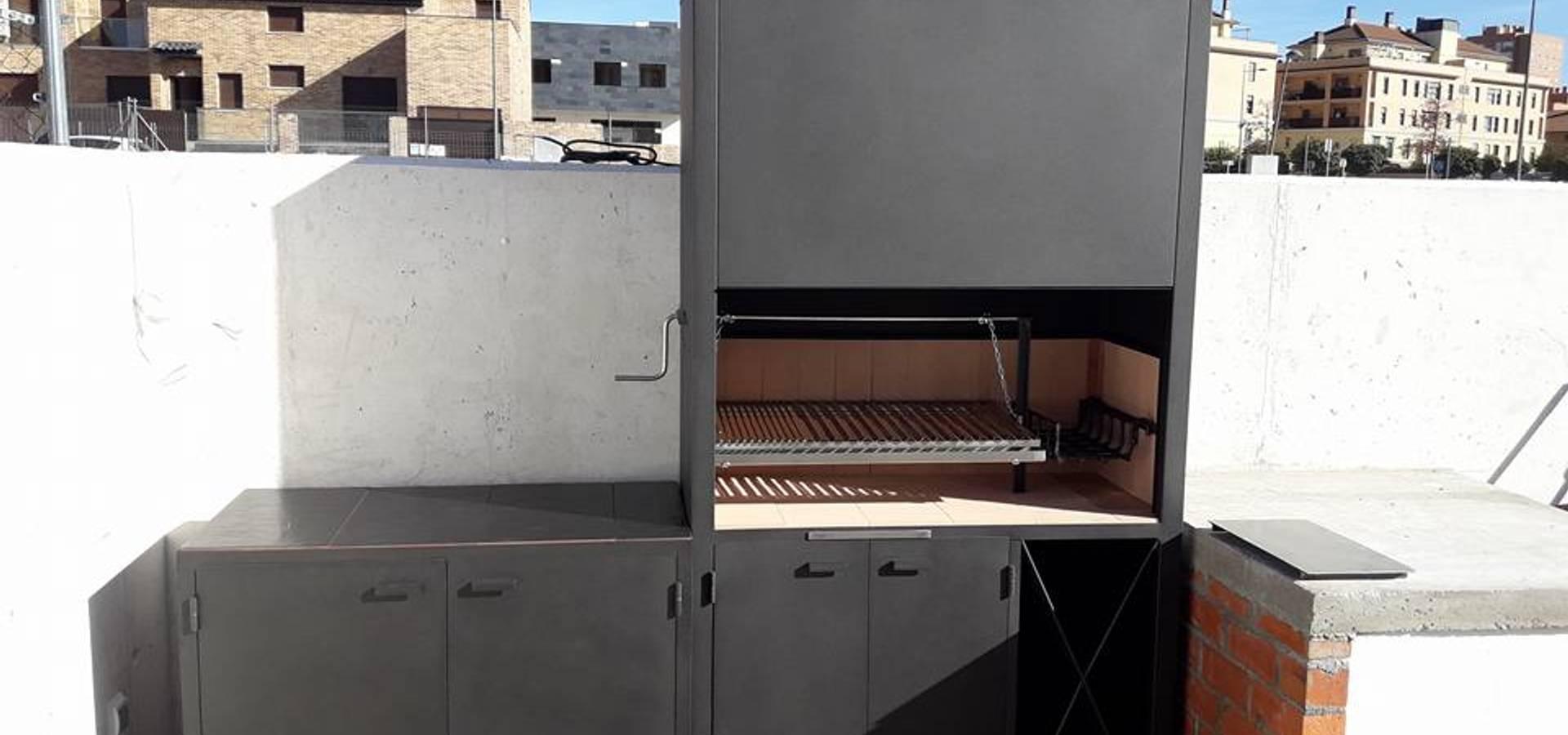 Sistemas De Parrillas Para Barbacoas De Obra Von Odino Cerrajería