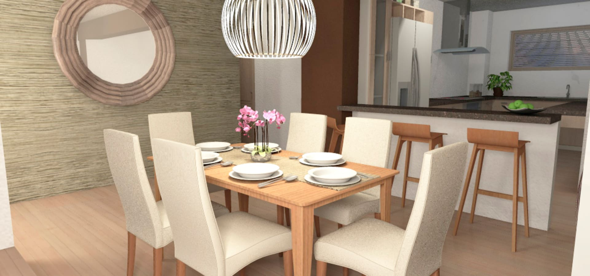 Diseño interior Living comedor von MM Design | homify