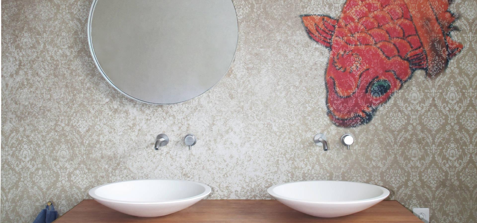 Mobel Salle De Bain der koi und der waschtisch par nadja bach - möbel & mehr