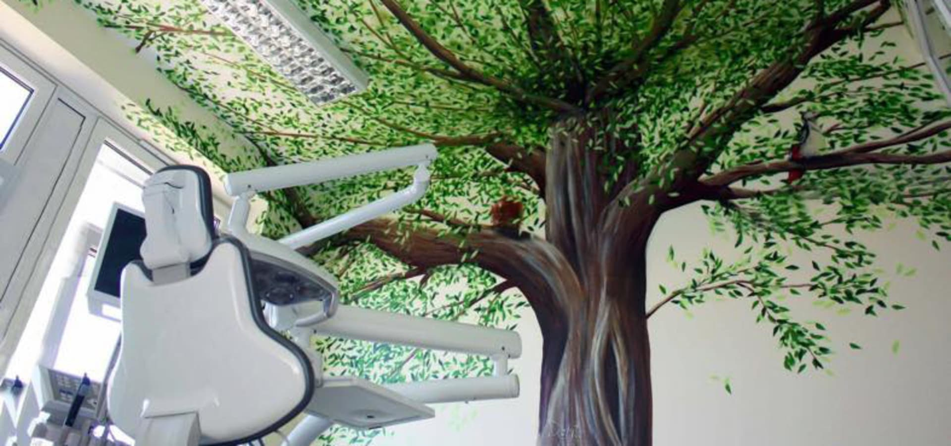 Wandmalerei Kinderzimmer Baum - Caseconrad.com
