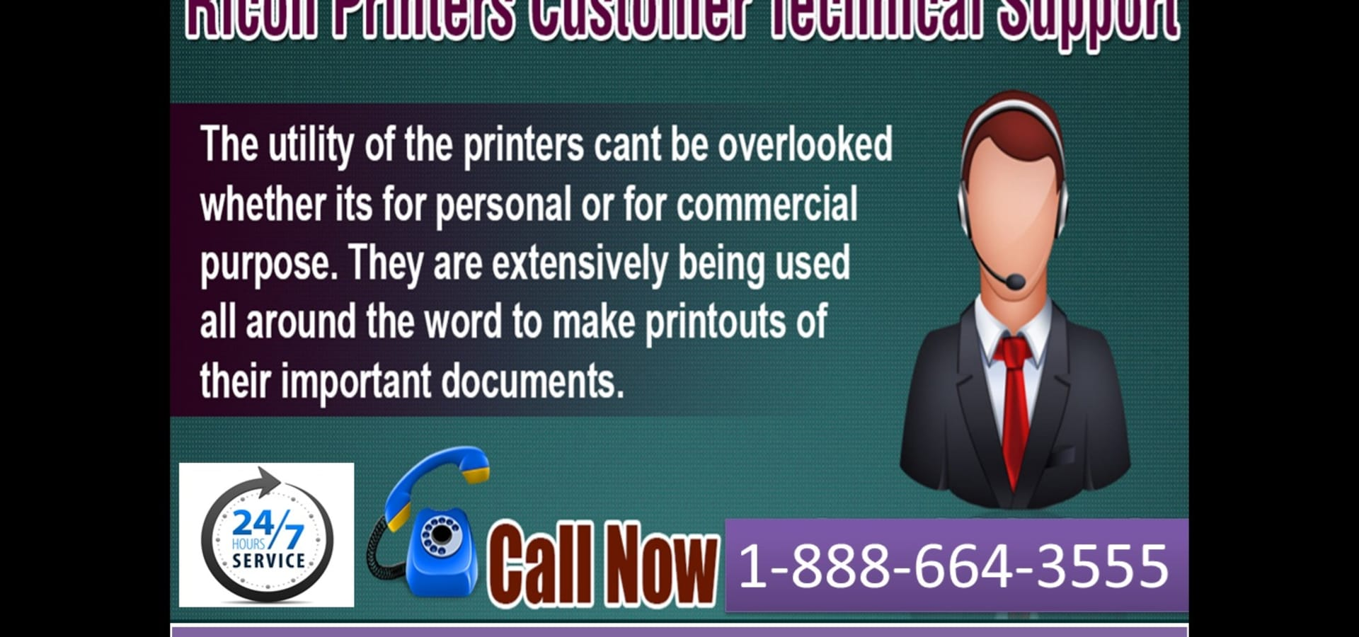 Ricoh Printer not working at all? Dial 1-888-664-3555 our Ricoh