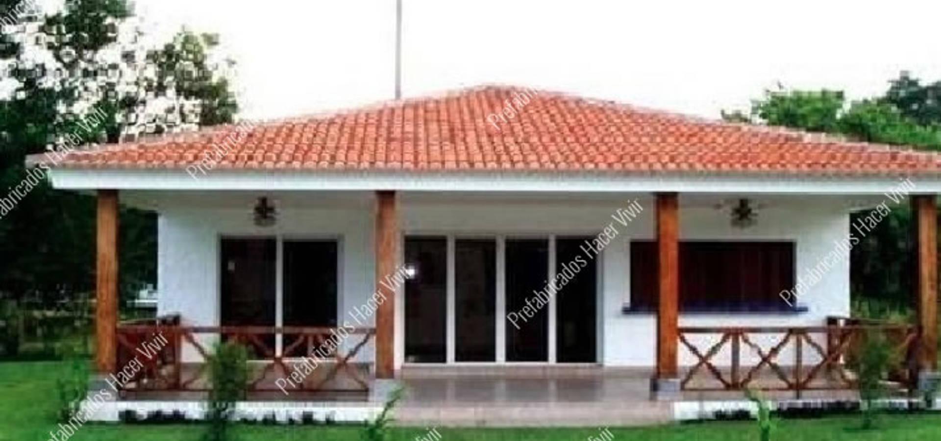 Casas prefabricadas por prefabricados hacer vivir homify - Fotos de casas prefabricadas ...
