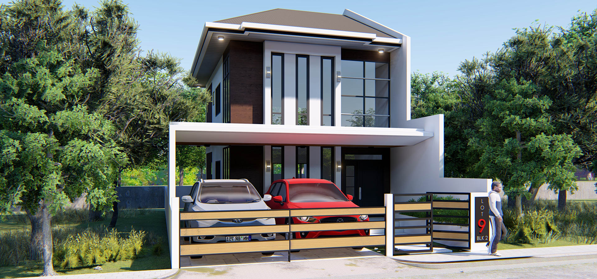 Proposed 2 Storey Zen Type Residence Homify