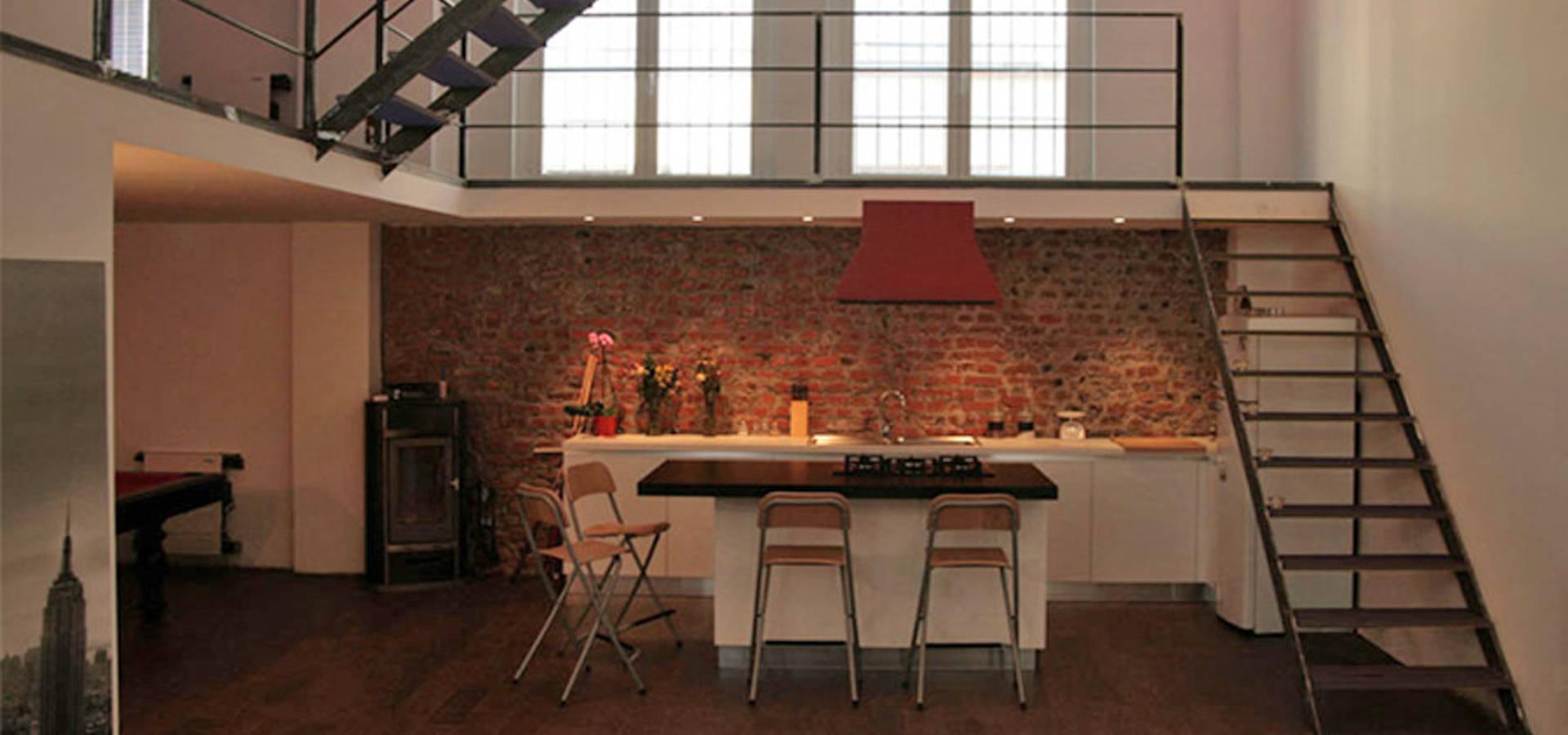 Loft Abitazione Profesjonalista Cda Studio Di Architettura Homify