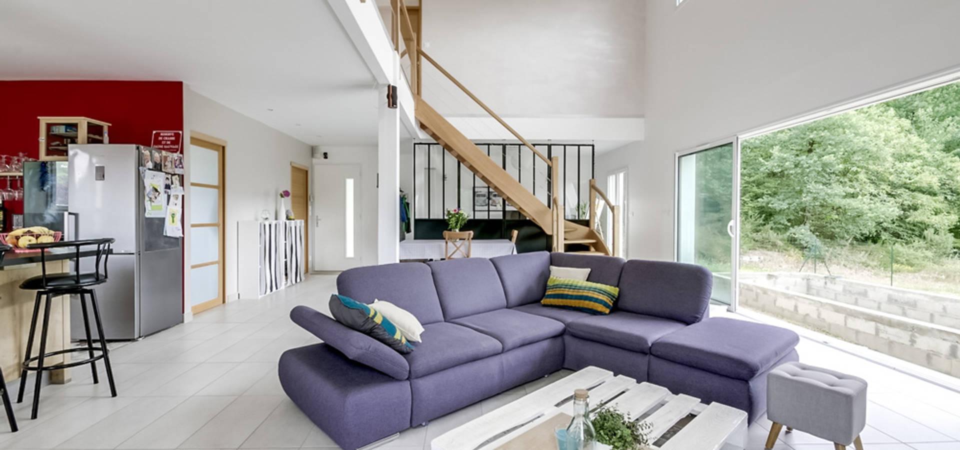 Aménagement d\'intérieur maison neuve by Agence 360 degrés | homify