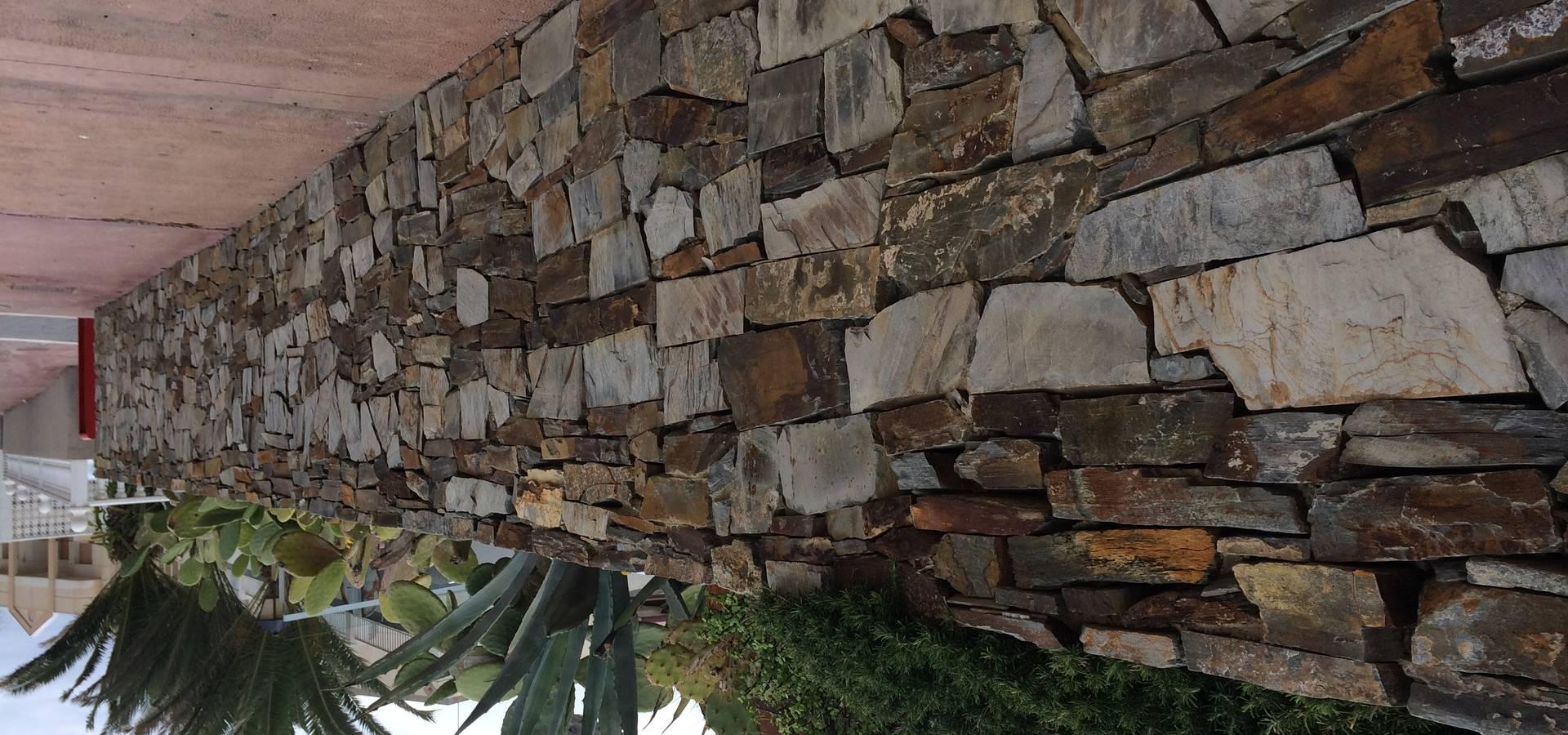 Proyecto De Terraza Con Estabilizadores De Grava Por Amagard