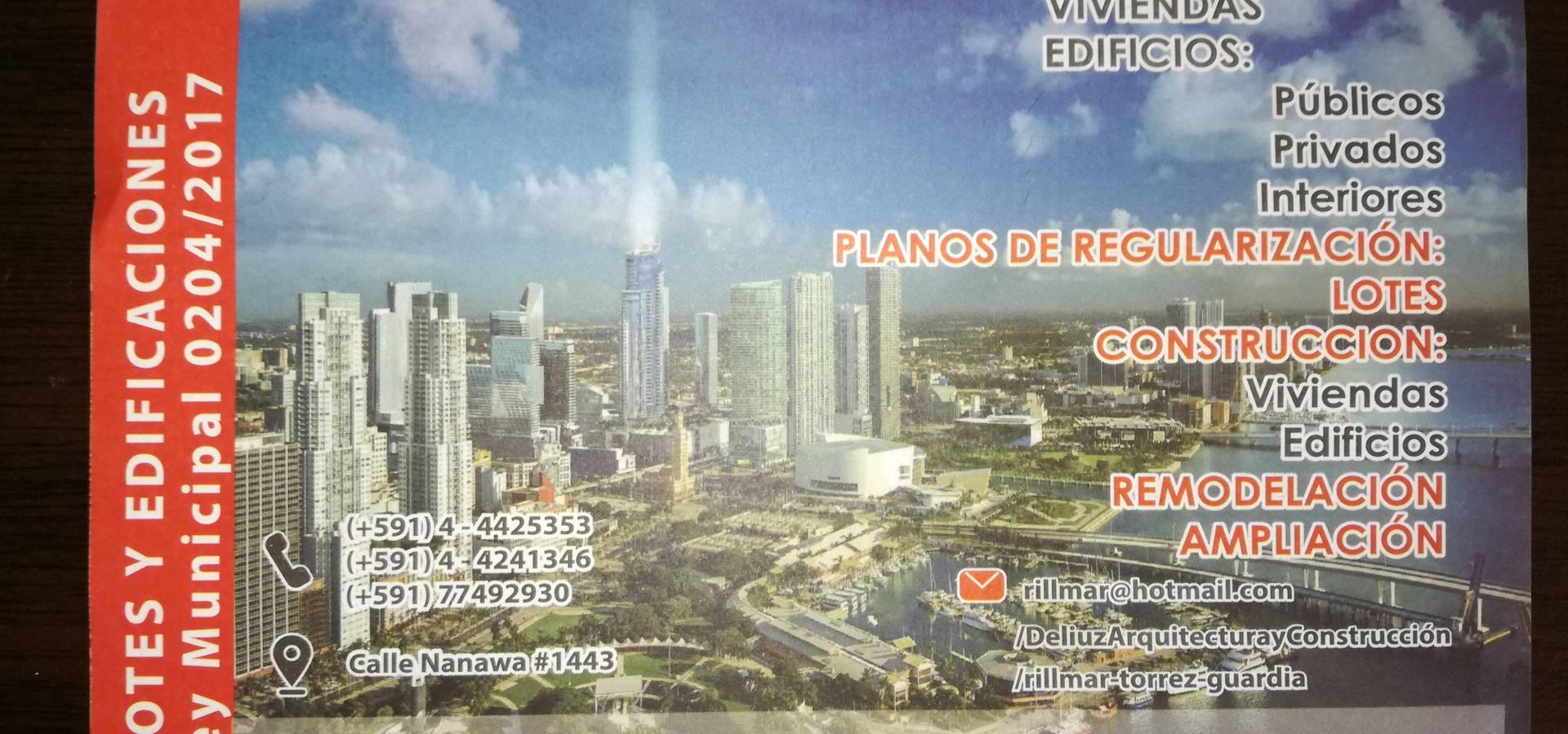 ESTUDIO DE ARQUITECTURA <q>DELIUZ</q>