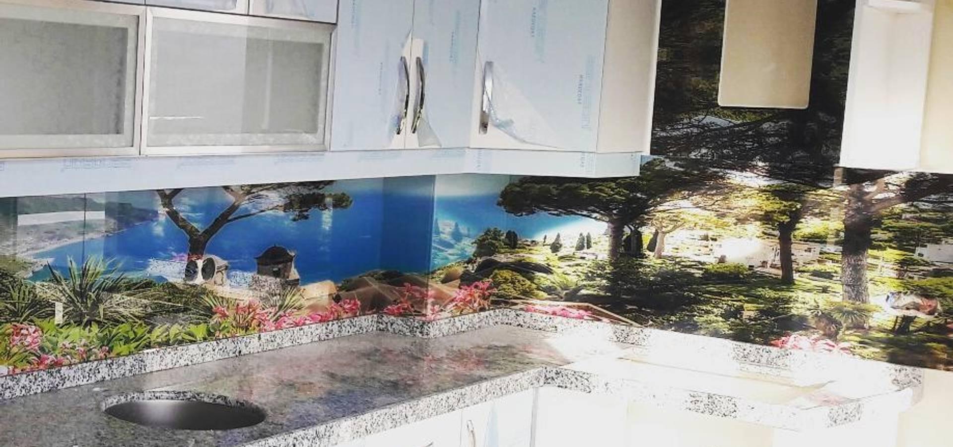 Öztaş Yapı Dekorasyon—Cam mutfak