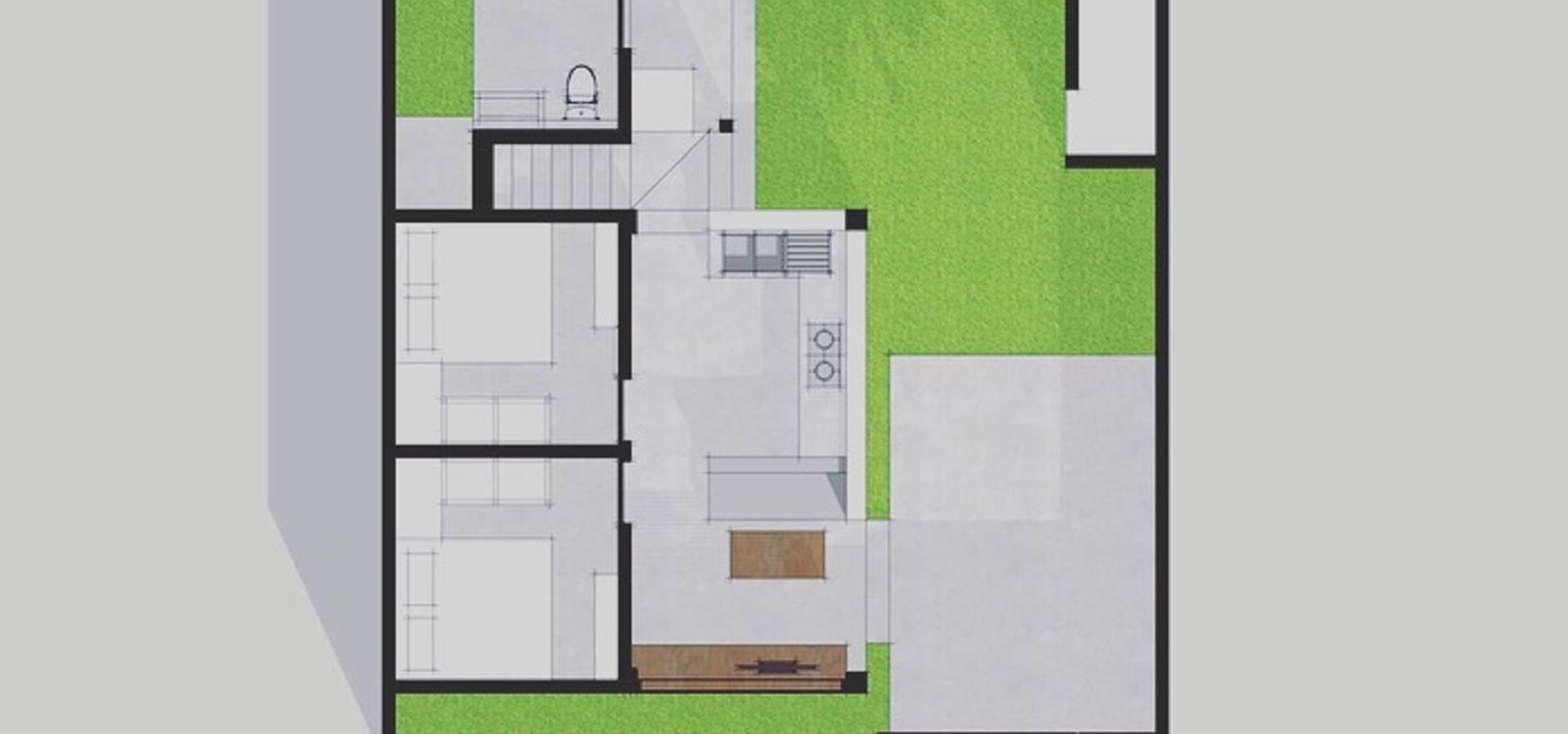 Small House Concept Design In Dalung Badung Bali Von Companion