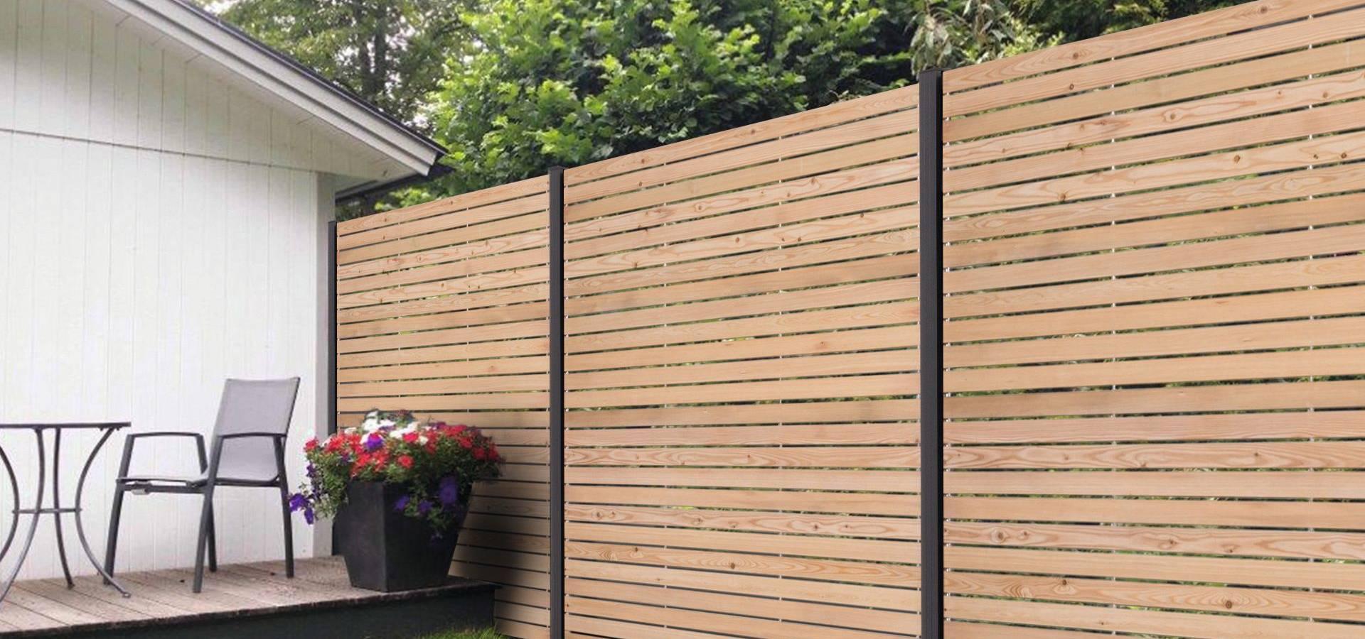 Holzzaune Sichtschutzzaune Aus Holz Von Ligna Gard Gmbh Homify