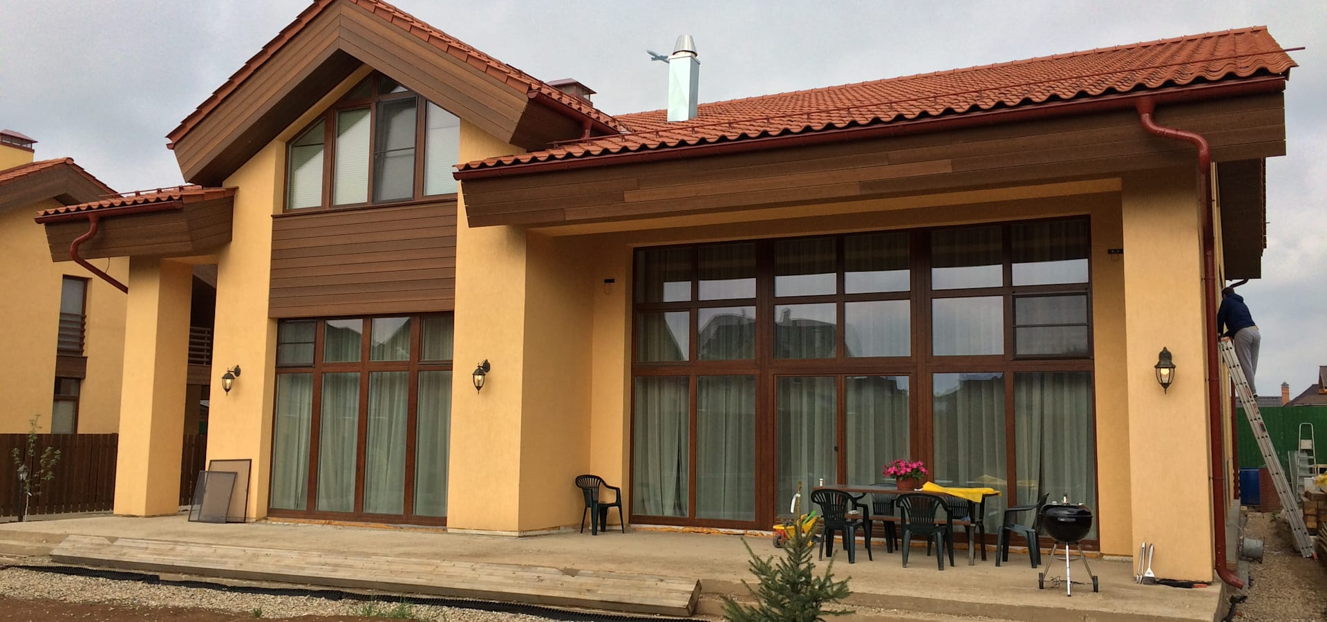 Деревянные окна <q>SKANDI OKNA</q>