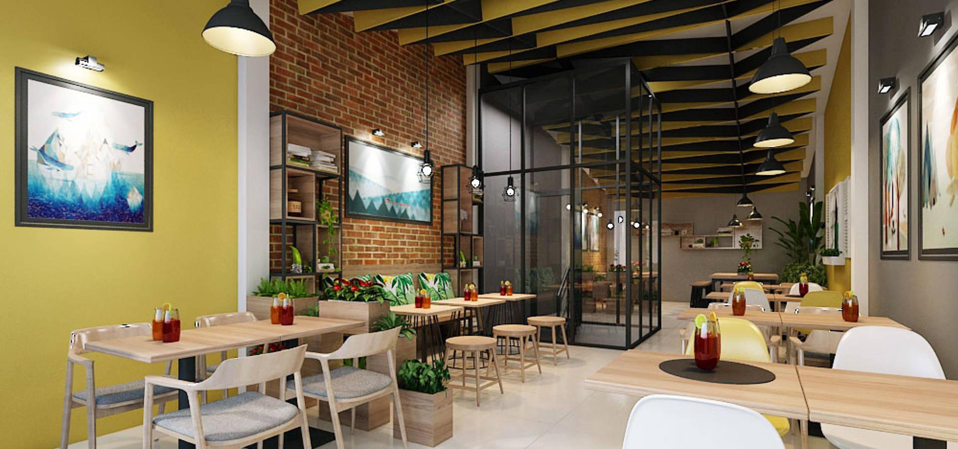 công ty thiết kế nhà hàng & quán cafe Hiện đại CEEB