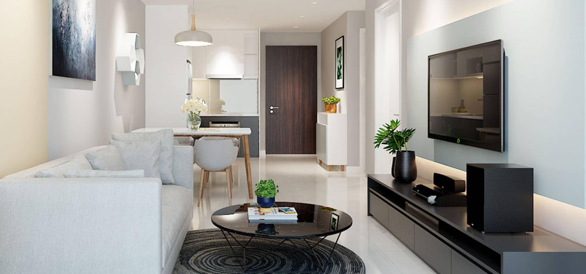 nội thất căn hộ hiện đại CEEB