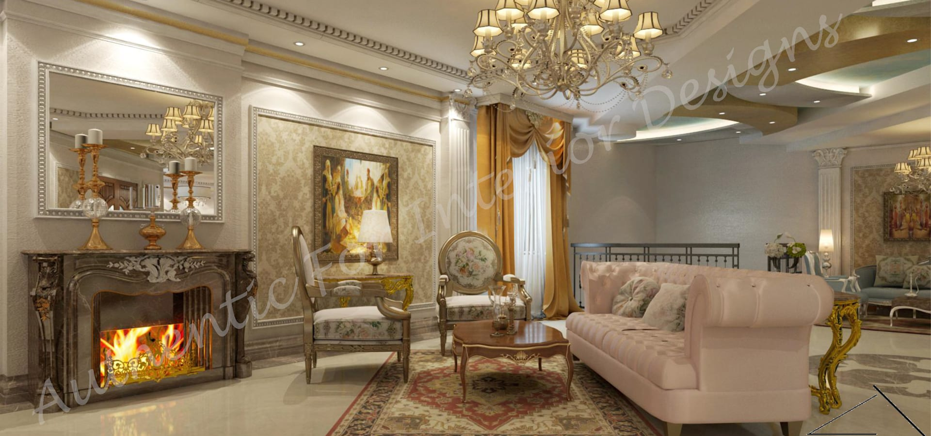 Authentic for interior designs