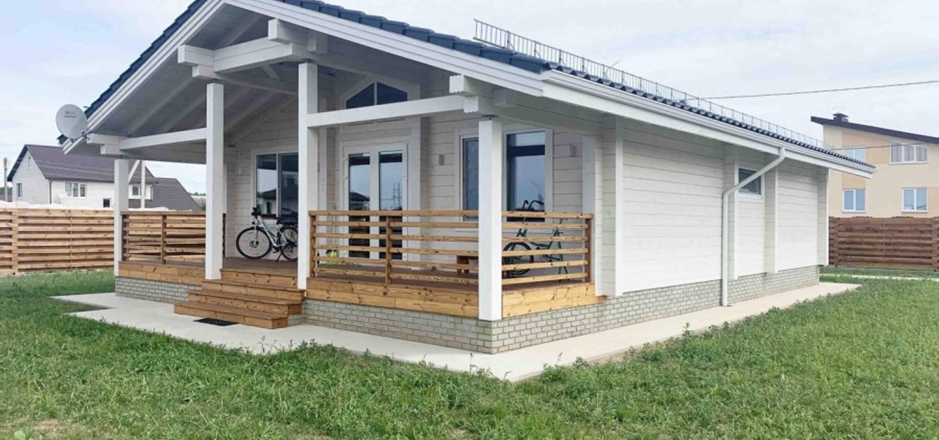 Haus Aus Holz In Polen Sonnenschein By Holzhaus Archiline Homify