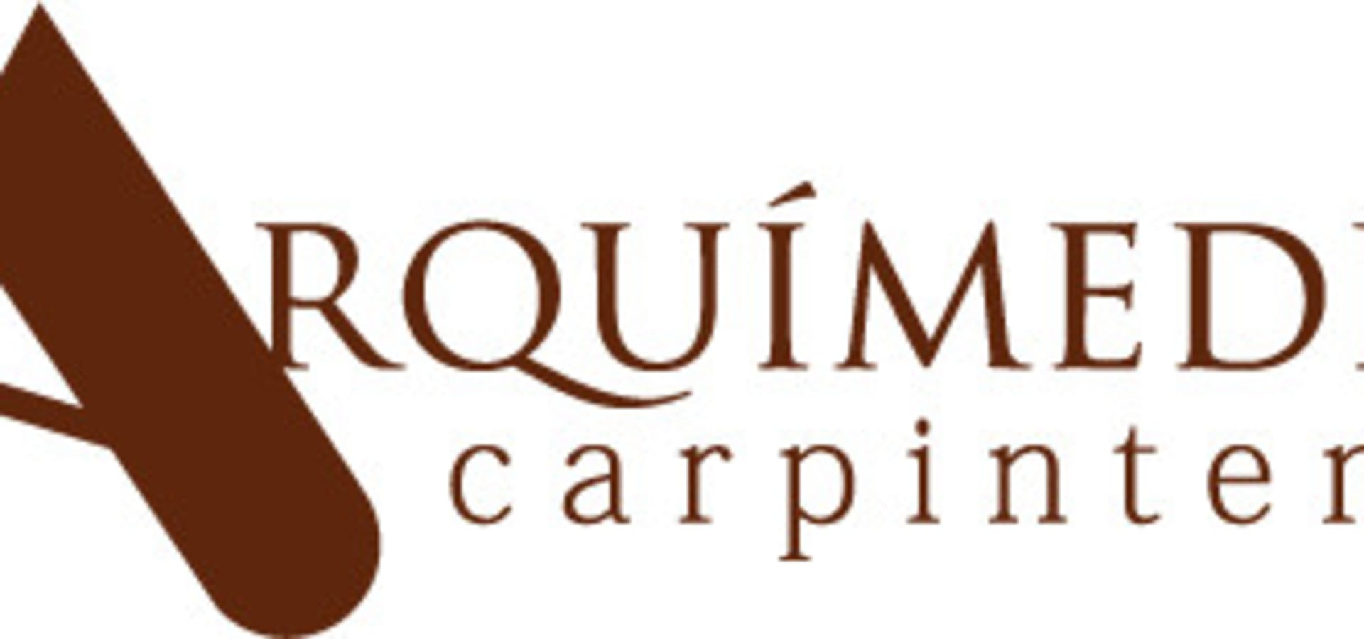 Arquimedes carpinteria