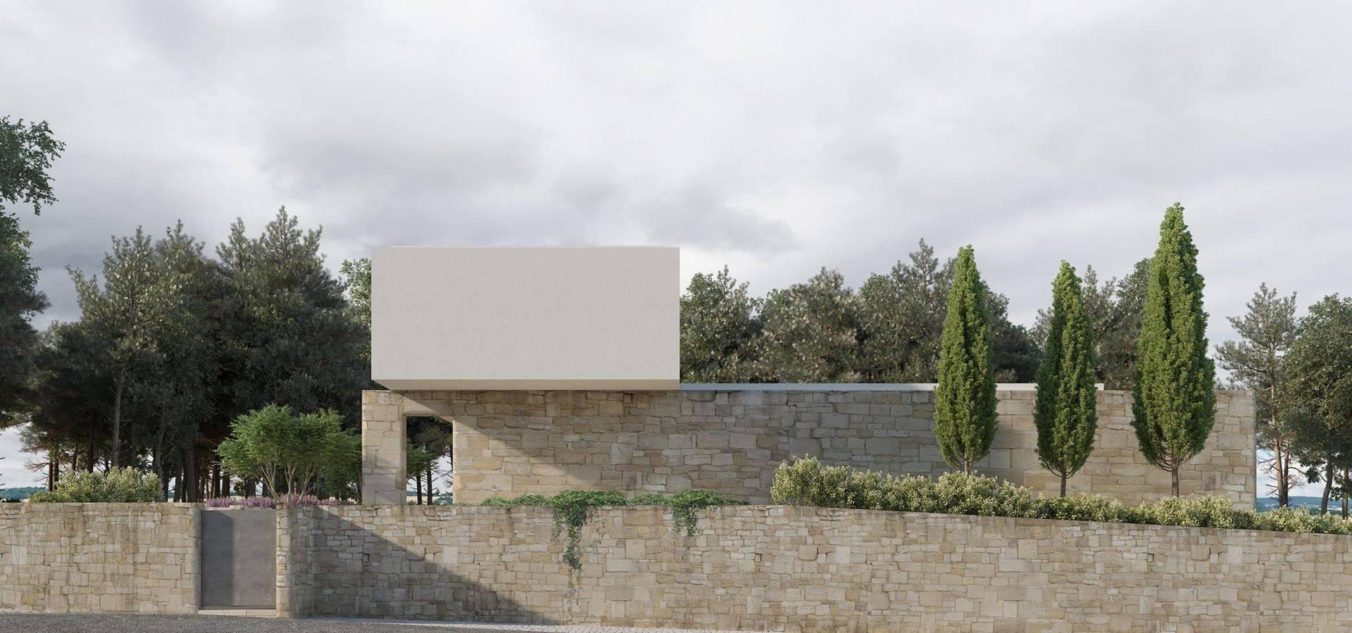Paulo Gomes, arquitectura