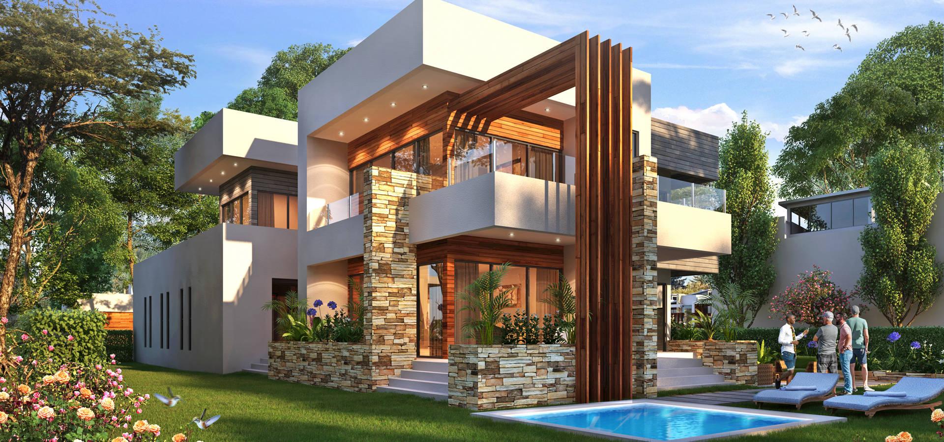 D3D Architectural Visualisation
