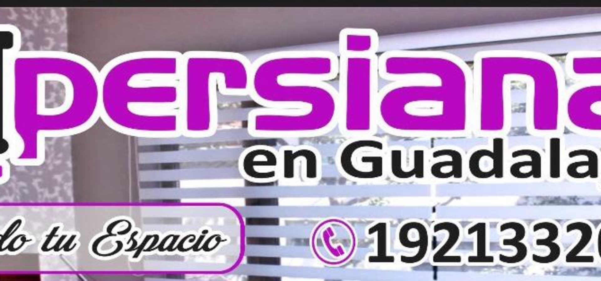 Persianas en Guadalajara Gdl
