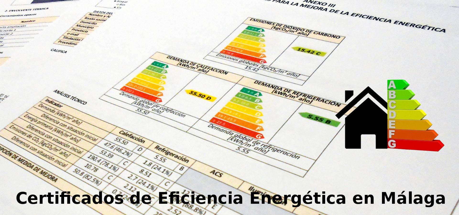 Certificados de Eficiencia Energética en Málaga