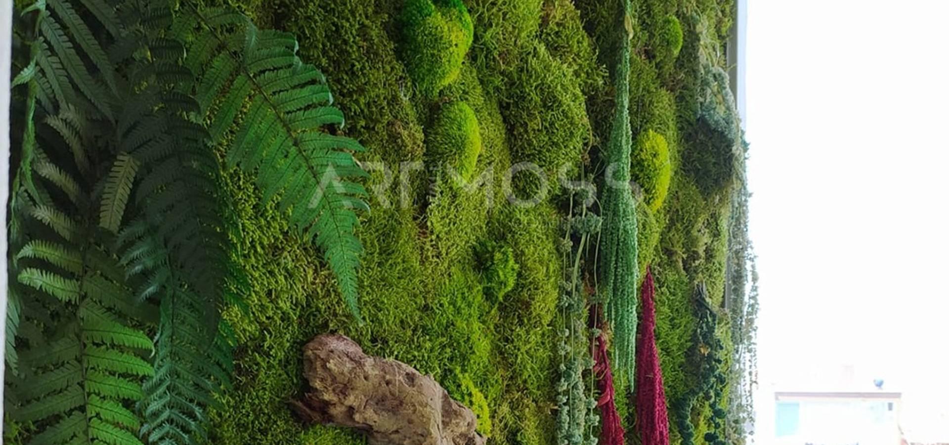 Dikey Bahçe & Yosun Duvar – Art Wall Moss