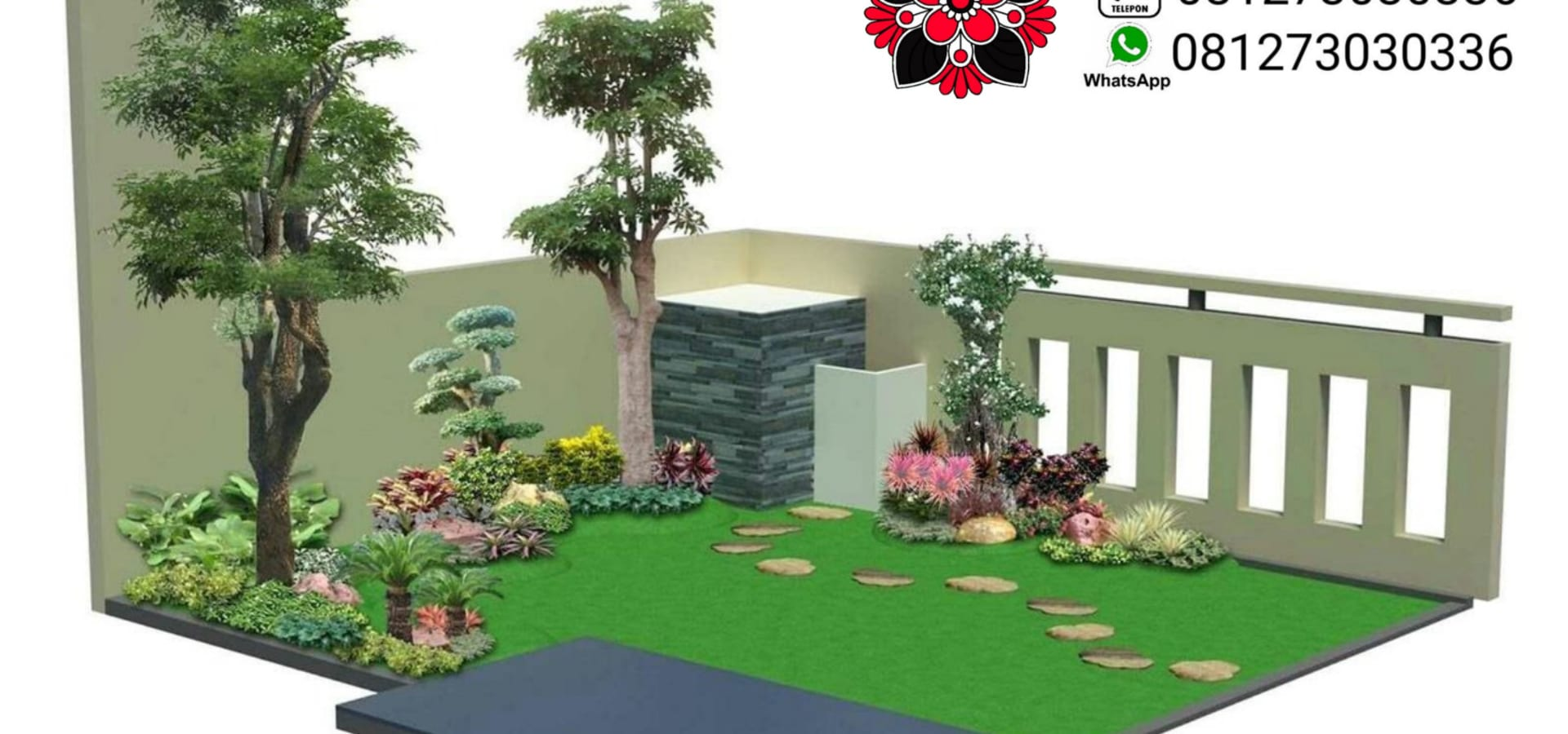 cv. risa asri landscape