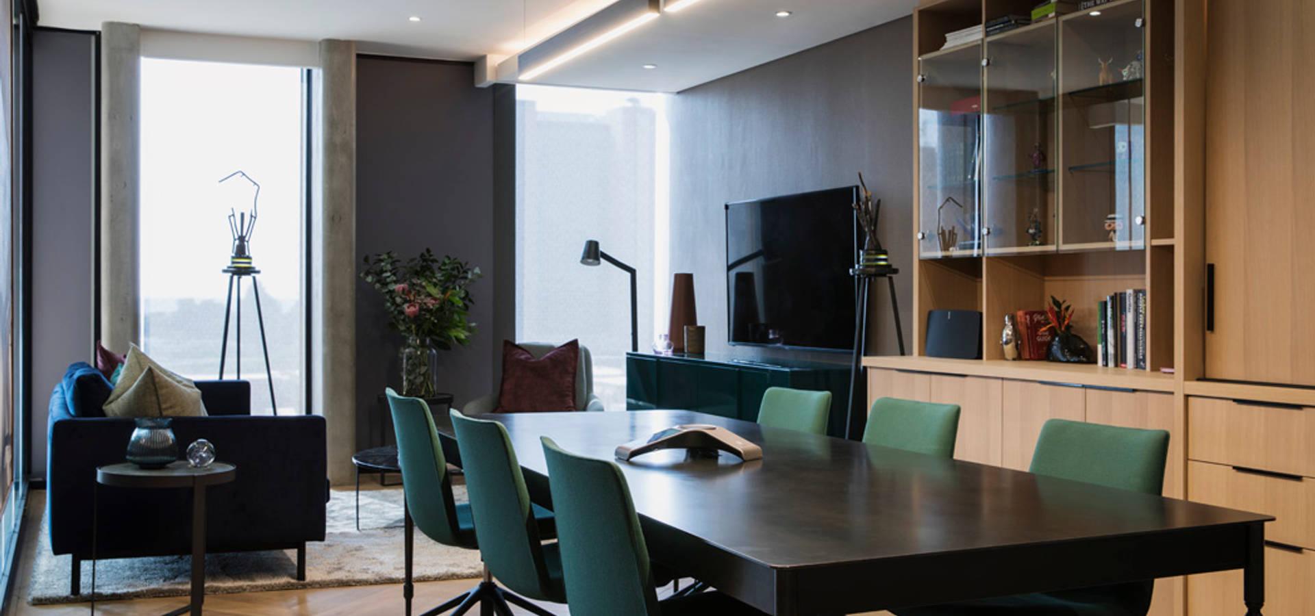 interior design workroom.