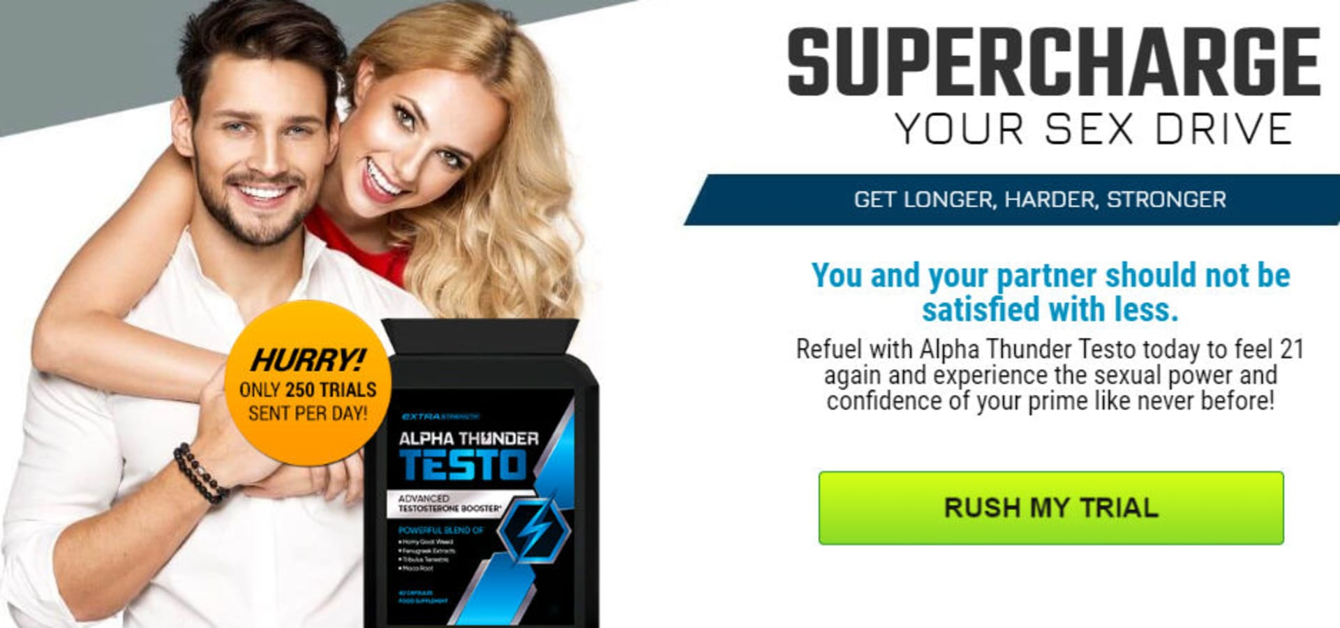 Alpha Thunder Testo [Canada]—100% Effective Testosterone Booster! Is It  Scam? | homify