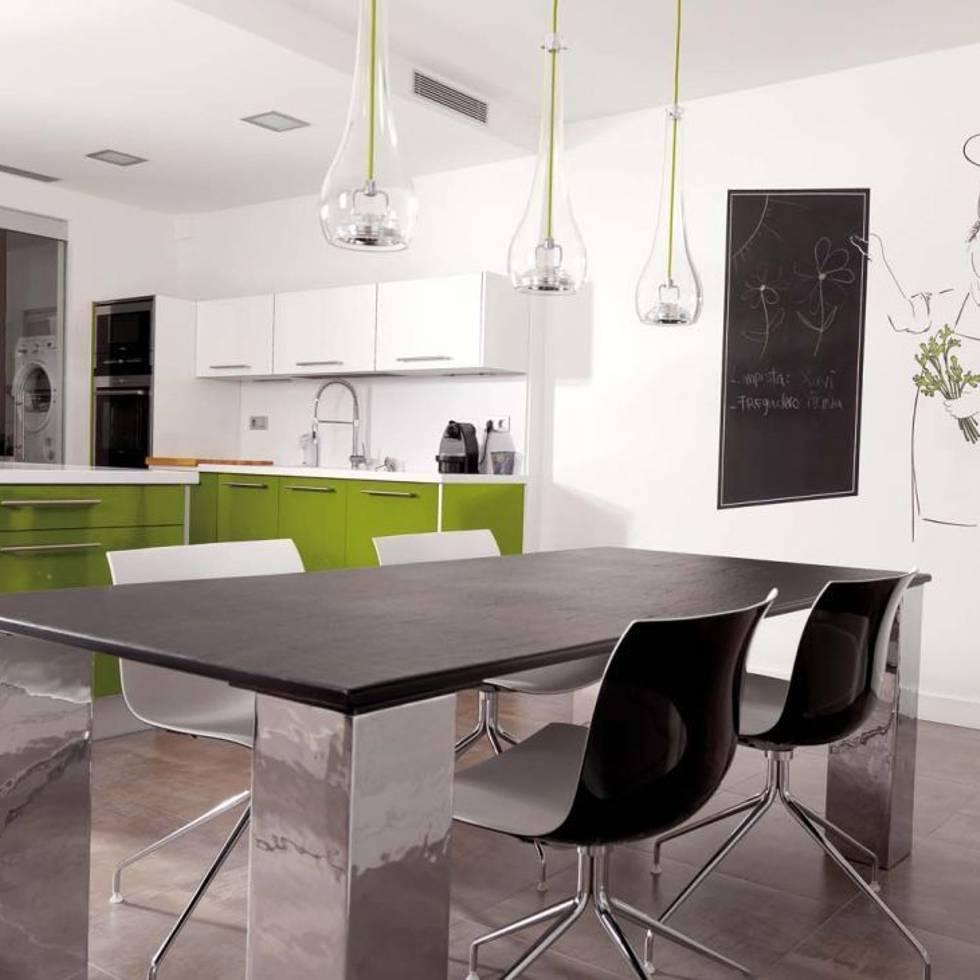 Cocinero con perejil: Cocinas de estilo moderno de Murales Divinos