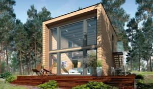 Casas modernas por THULE Blockhaus GmbH