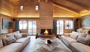 Salas de estar rústicas por Ardesia Design