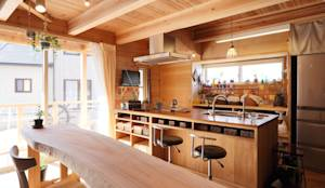 country Kitchen by ATELIER TAMA