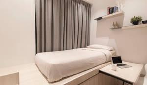 minimalistische Schlafzimmer von Eightytwo Pte Ltd
