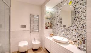 modern Bathroom by MOB ARCHITECTS