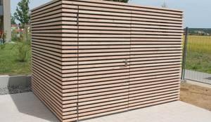design ger tehaus stahl mit douglasienlattung von. Black Bedroom Furniture Sets. Home Design Ideas