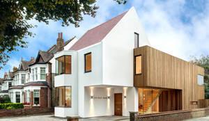 Casas de estilo moderno por MZO TARR Architects