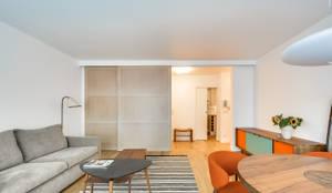 scandinavian Living room by blackStones