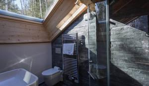 moderne Badkamer door Chevallier Architectes