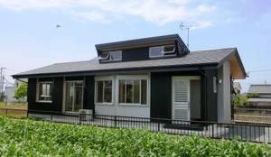Maisons de style de style eclectique par 氏原求建築設計工房